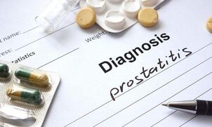 Diagnosis of prostatitis