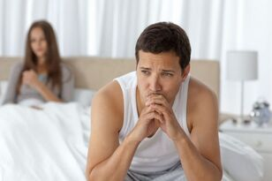 Sexual dysfunction is a symptom of prostatitis